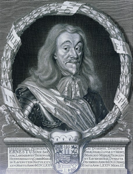 Herzog Ernst I. der Fromme von Sachsen-Gotha-Altenburg