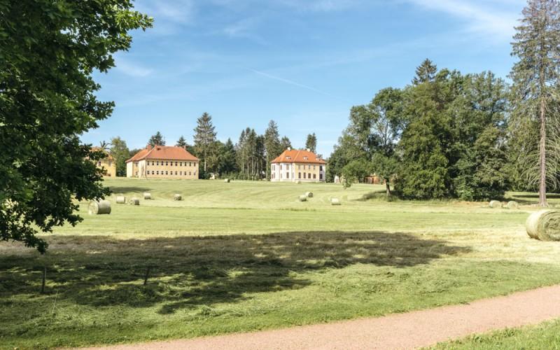 Schloss und Park Wilhelmsthal bei Eisenach