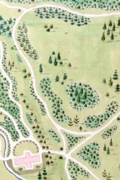 Johann Rudolph Eyersbeck Gartenplan