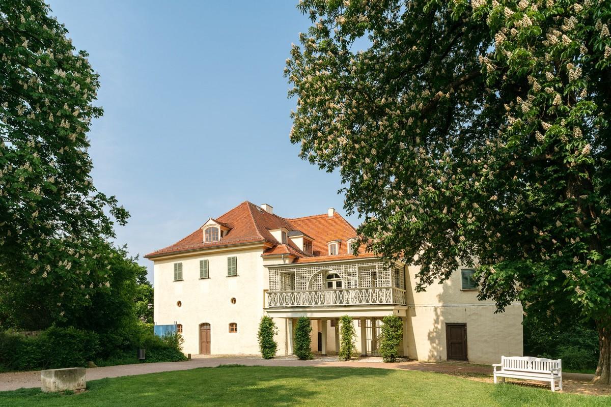 Schloss und Park Tiefurt in Weimar