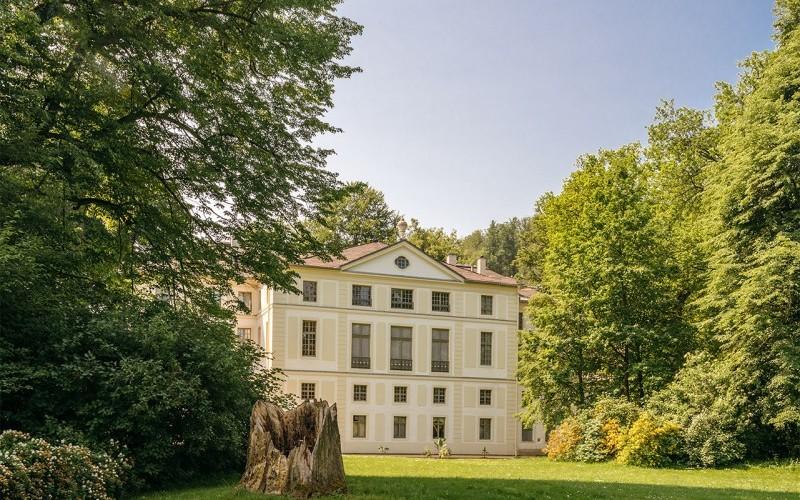 Fürstlich Greizer Park, Blick auf das Sommerpalais