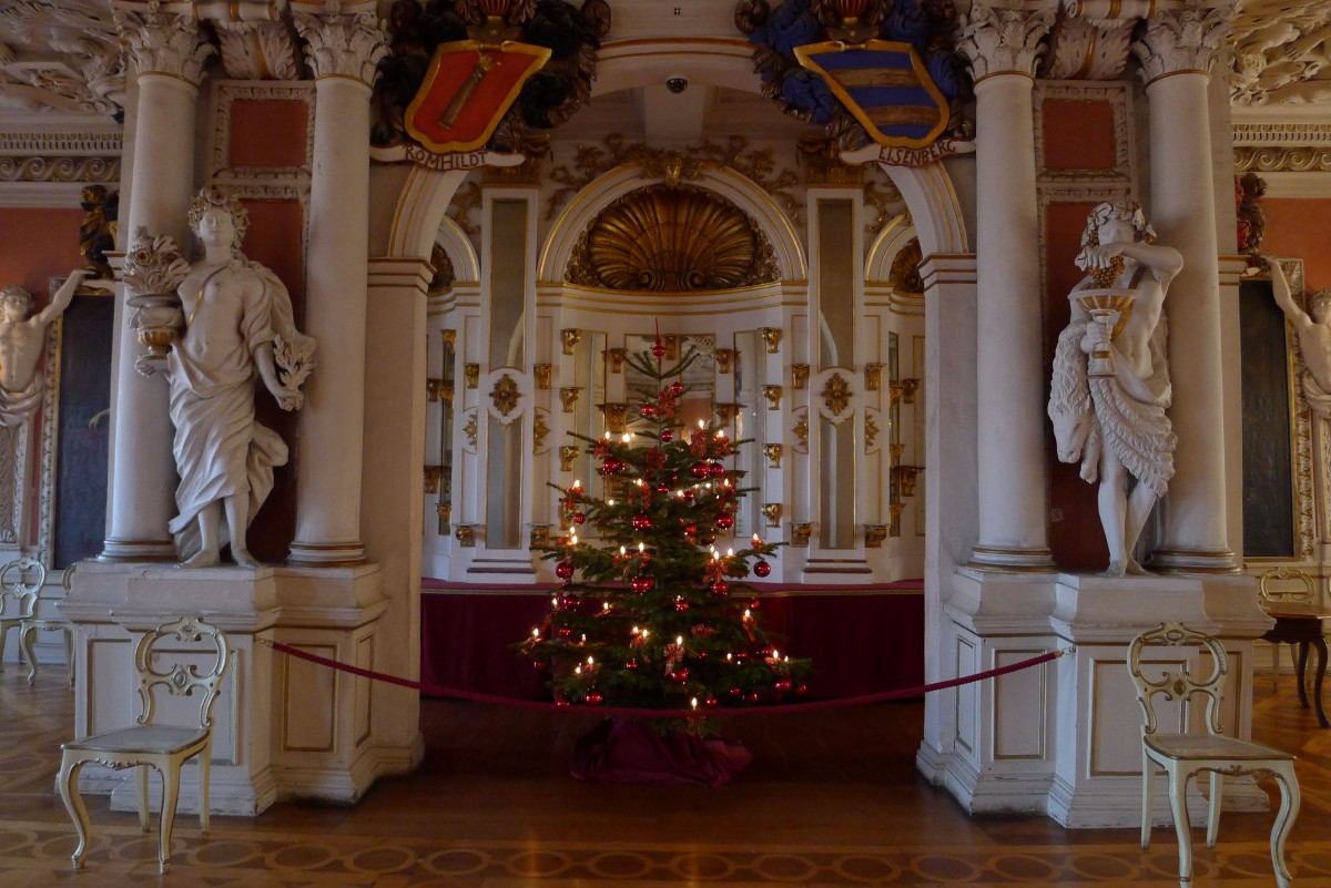 Die Advents- und Weihnachtszeit in Thüringens schönsten Schlössern
